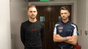 Oliver Lines and Steven Hallworth Bet Victor Snooker Shoot OutTitle